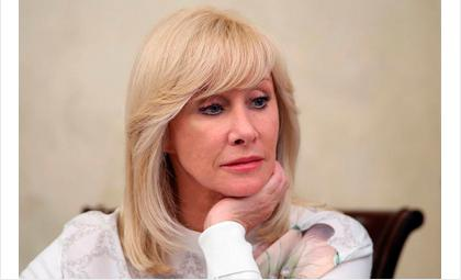 Оксана Пушкина - глава думского комитета по вопросам семьи женщин и детей