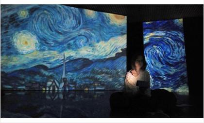 Выставка «Винсент Ван Гог» с движущимися полотнами открылась в историко-художественном музее