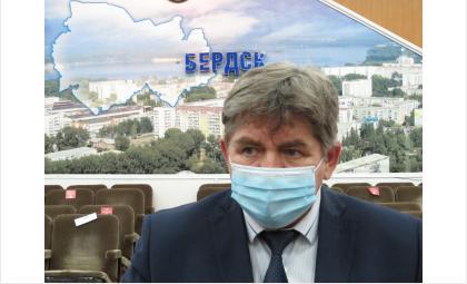Евгений Шестернин в 2020 году избран мэром Бердска на второй срок