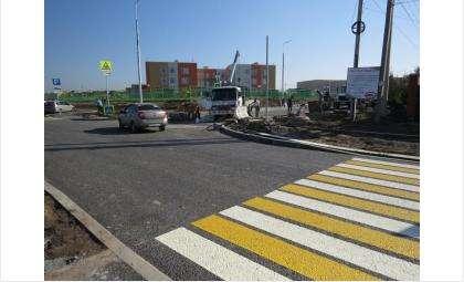 Три дороги у новой школы в Южном власть Бердска поставила на баланс города