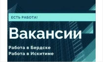 Вакансии Бердска на 09.04.2021 года. Работа в Бердске