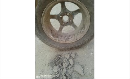 Мойте колеса перед шиномонтажом