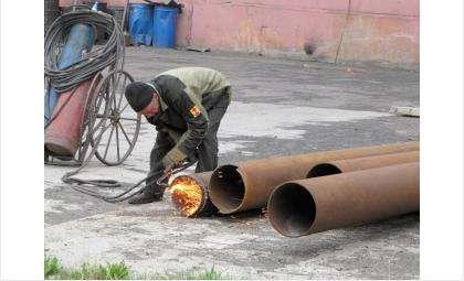 КБУ после гидравлических испытаний устраняет дефекты на теплотрассах Бердска