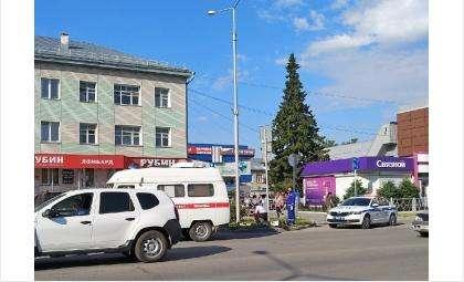 Погиб мотоциклист в Бердске