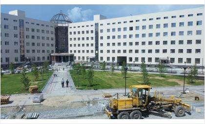 Новый корпус НГУ открыли в 2016 году