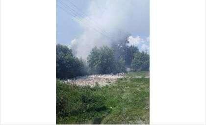 Пожар случился днём 16 июня