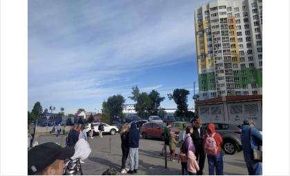 Массовая эвакуация в Новосибирске