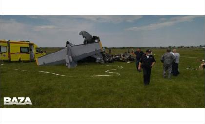Самолёт упал, возвращаясь на аэродром