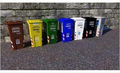 Раздельный сбор мусора играет немаловажную роль