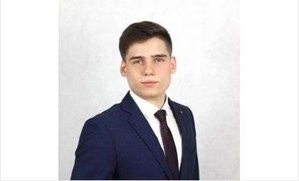 """Михаил Дорбинский, член """"Молодежного парламента"""""""