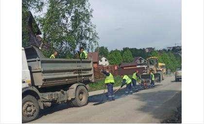 Ремонт дороги на водозабор начался в середине мая