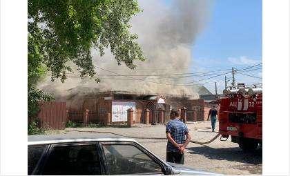 Пожар днём 17 июня