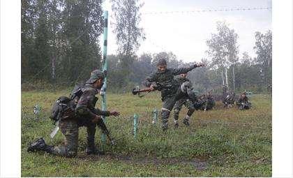 Соревнования отличники войсковой разведки
