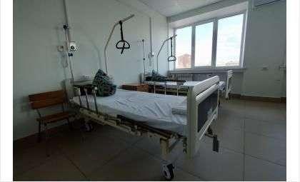 В коронавирусном госпитале Бердска лечат больных