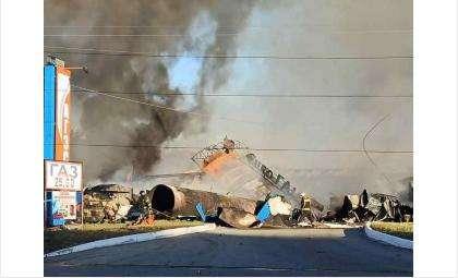 Последствия взрыва на АГЗС
