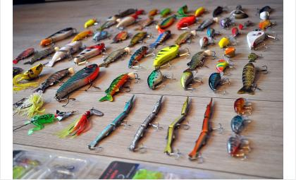 Магазин продавал товары для рыбалки и охоты