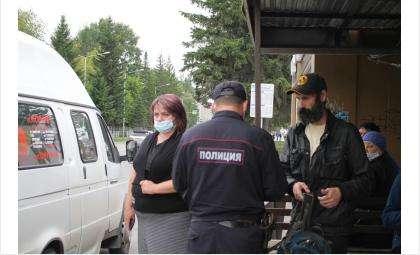 Масочный режим в транспорте проверили в Бердске
