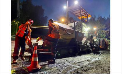 Ремонт автомагистрали на ул.Лескова проверила группа «Дорожного контроля»