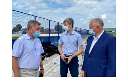 Олег Иванинскийоценил ход строительства
