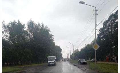 Пенсионер на «Ладе» врезался в маршрутку №15 в Бердске