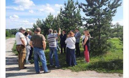Ильгиза Лотфуллина с избирателями