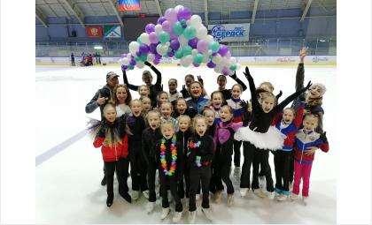 Фигуристы Бердска становятся кандидатами в мастера спорта