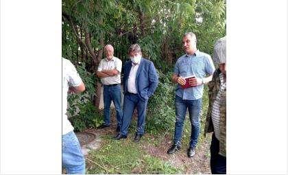Евгений Шестернин выехал на встречу с гражданами