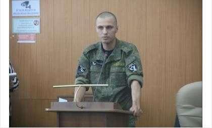 """Командир """"Кондора"""" Алексей Батенёв"""