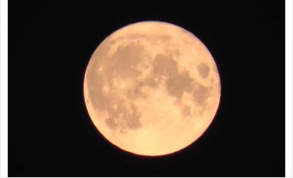 """""""Осетровую"""" луну сняли с приближением в 58 раз"""