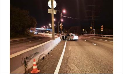 ДТП произошло ночью на трассе