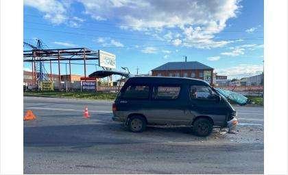 Жесткое ДТП с пострадавшим в Бердске