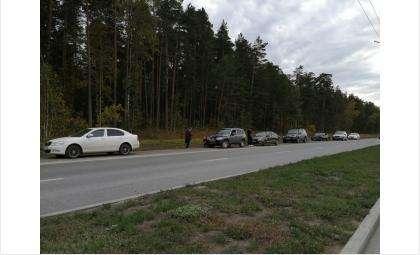 Все 6 автомобилей получили повреждения