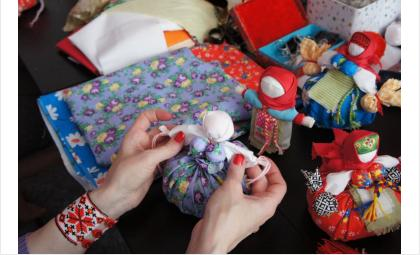Изготовление куклы- древнее ремесло