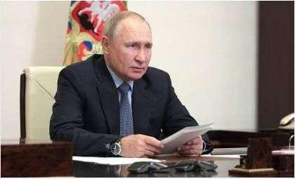 Путин Владимир Владимирович. Фото Евгений Паулин/РИА Новости