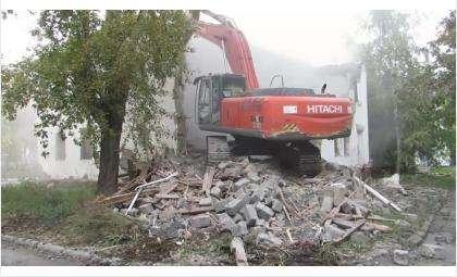 Ветхое жилье идет под снос