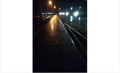 Новый тротуар