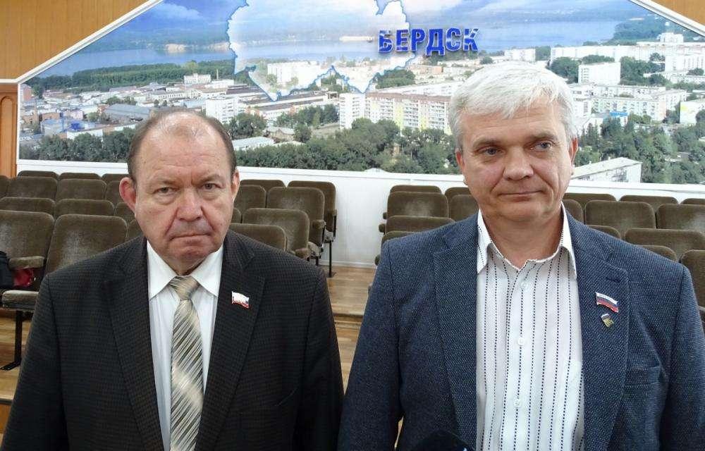 Валерий Бадьин и Владимир Голубев
