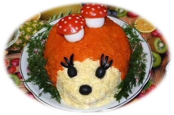 Фото рецепты салаты на день рождения