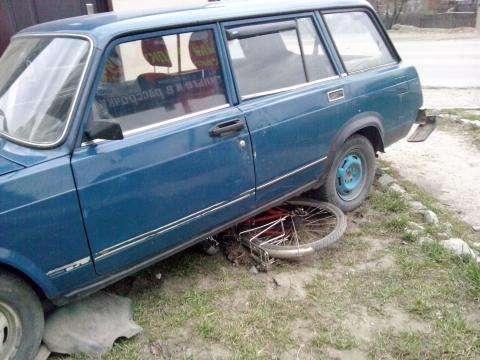 Пьяный водитель «Жигулей» чуть не задавил велосипедиста в Бердске