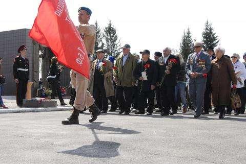 Впервые в Бердске ветераны не будут участвовать в параде Победы