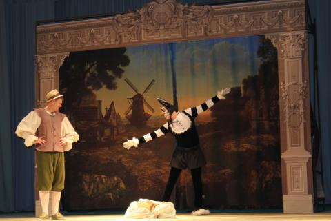 Театр «На левом берегу»  покажет в Бердске сказку «Кот в сапогах»