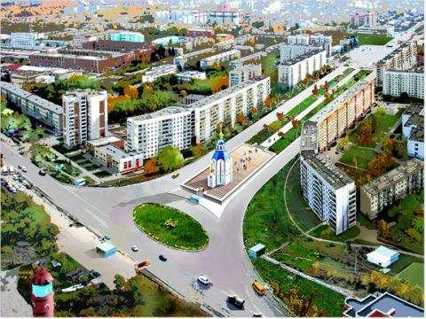 В Бердске построят памятную часовню и новый торговый центр