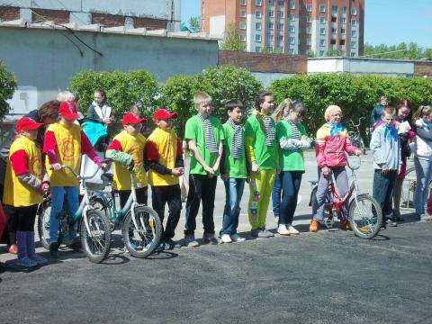 Участники городского этапа конкурса Безопасное колесо