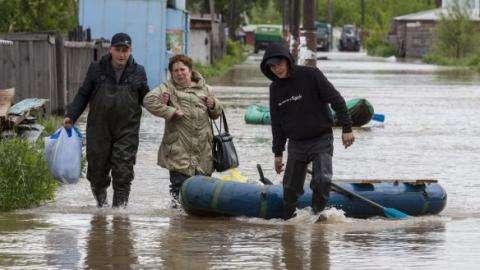 Идет эвакуация людей