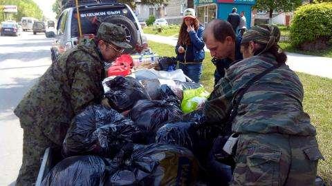 Гуманитарную помощь Бердск направляет на Алтай