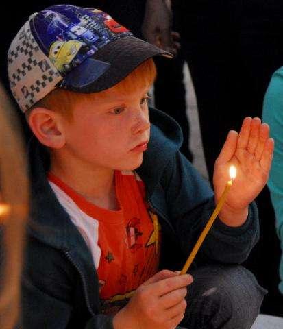 """В акции """"Свеча памяти"""" в Бердске участвуют все желающие"""
