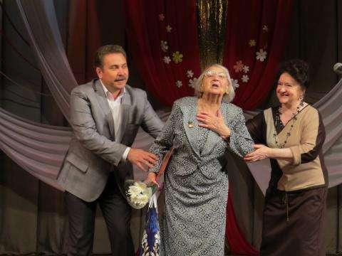 Доктор Валентина Шалина в этом году отмечает 90-летие. Врачам желала главного - здоровья