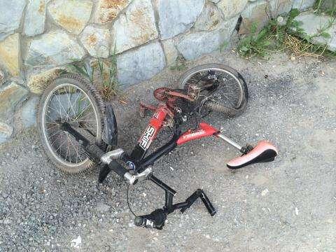 Подросток на велосипеде попал в ДТП в Искитимском районе