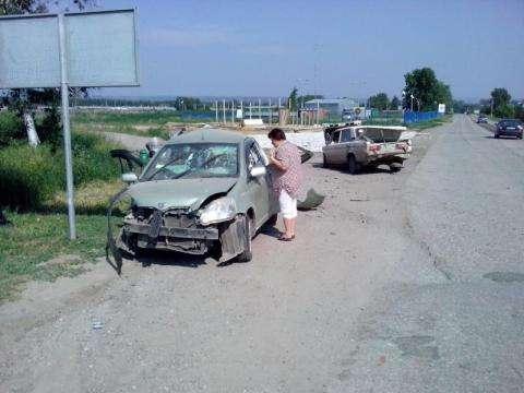 В ДТП пострадали сразу шесть человек