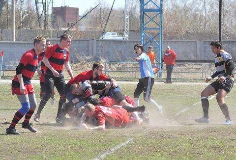 Команда регби-7 из Бердска